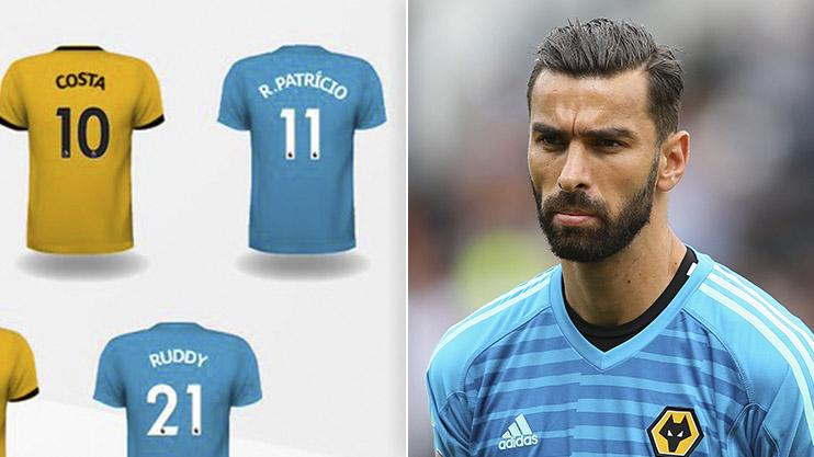 3ce961b41e5 Here s the brilliant reason why new Wolves goalkeeper Rui Patricio will  wear No.11 this season