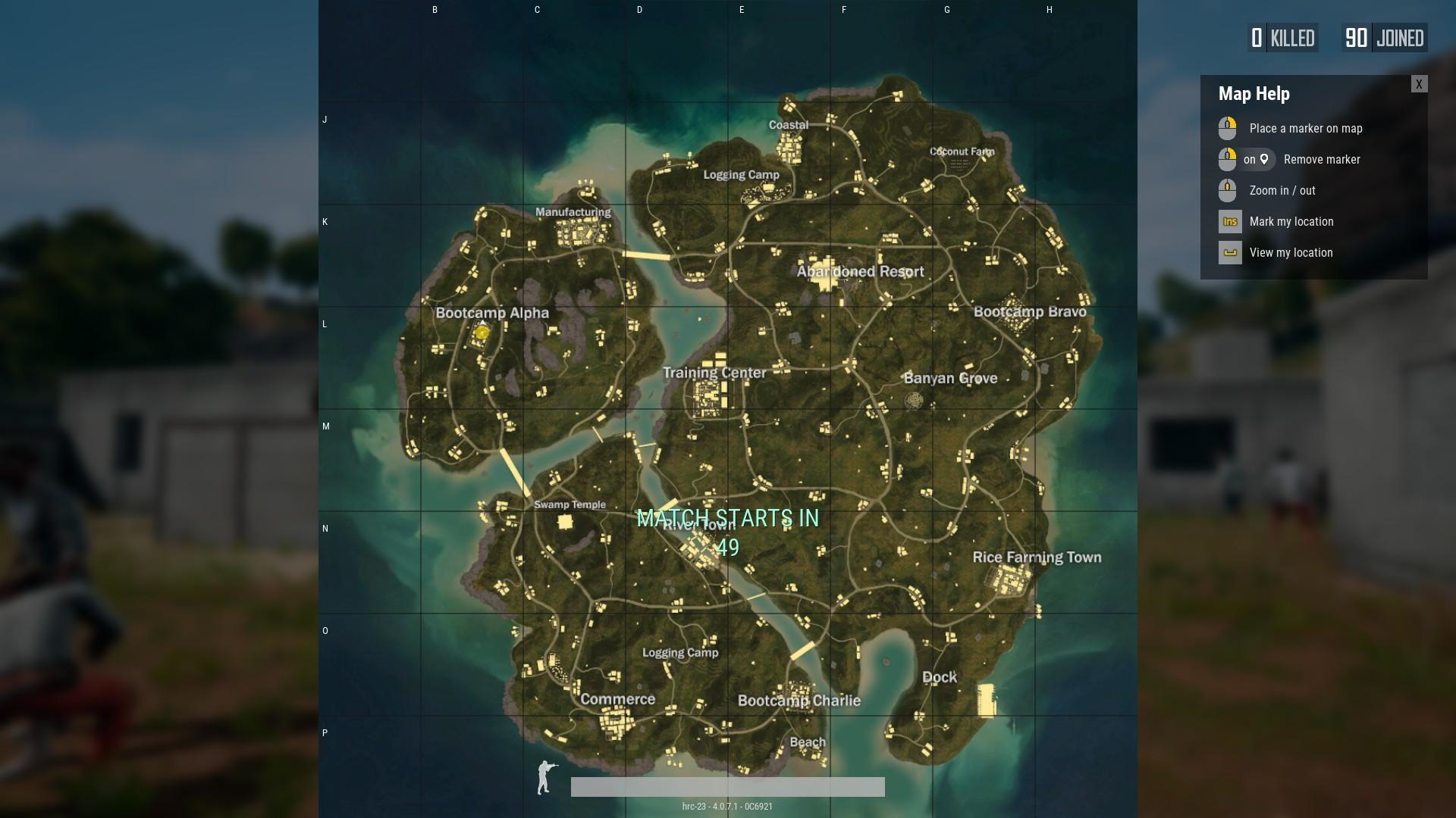 Sanhok is the smallest PUBG map yet