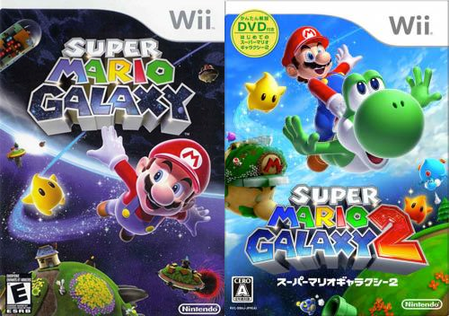 Both Super Mario Galaxy games are amongst the highest rated of all time