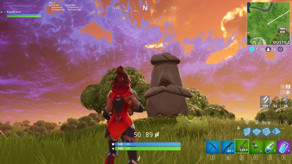 Is their a hidden message from the stone heads?