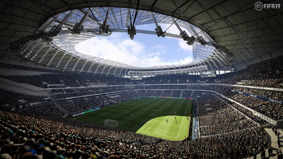 FIFA 19's graphics are superb