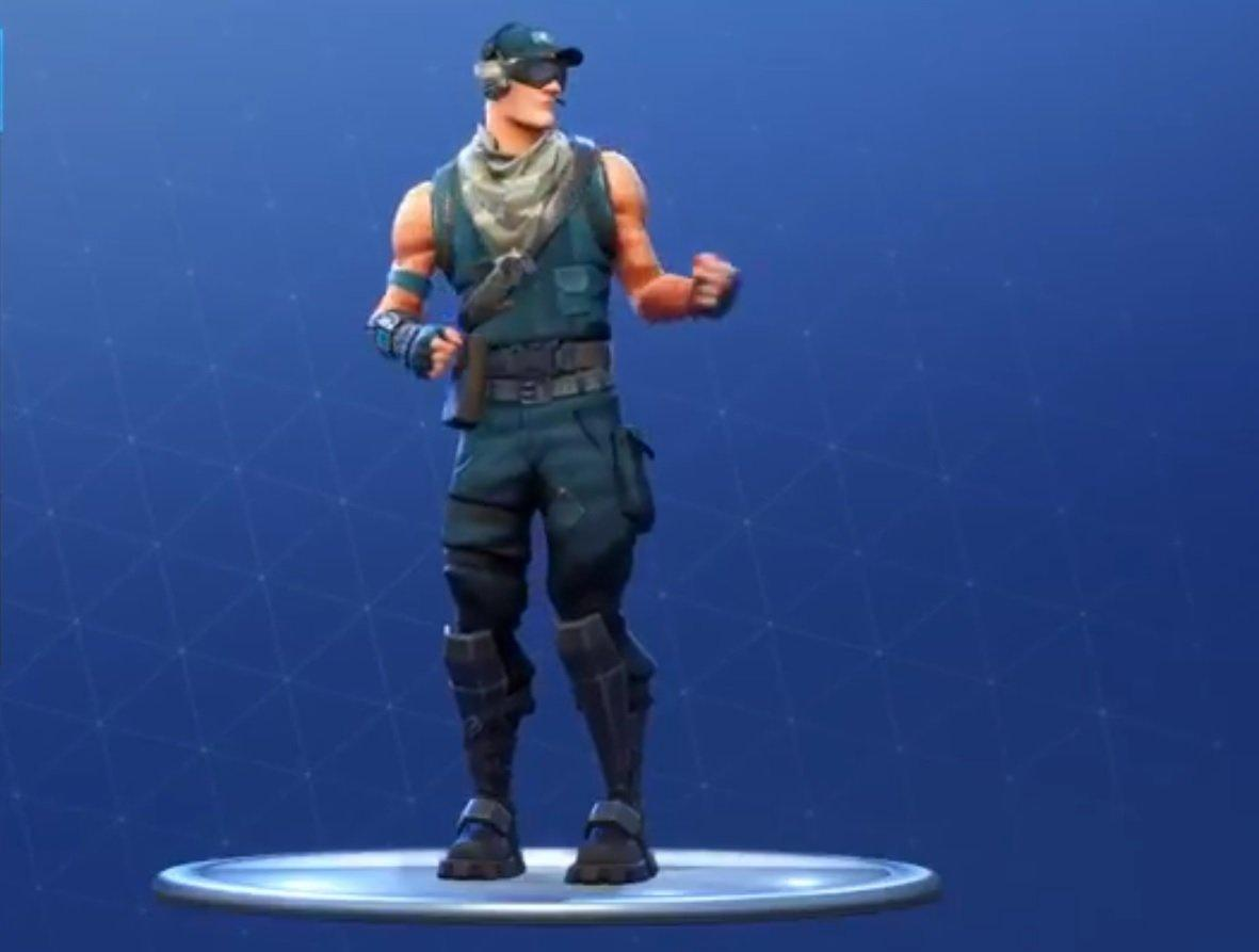 Even the exclusive skin for PS4 Fortnite players is confused