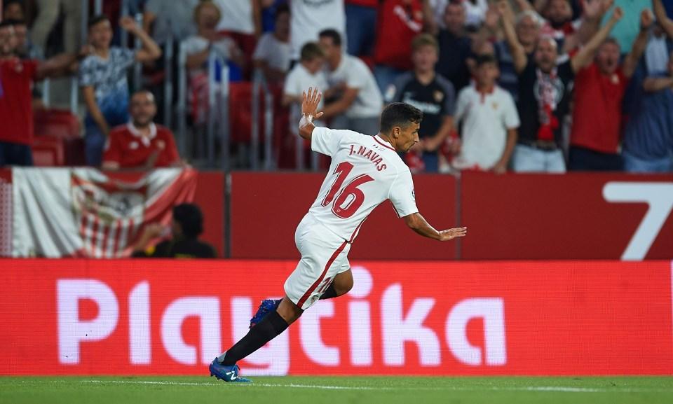 Sevilla favourite
