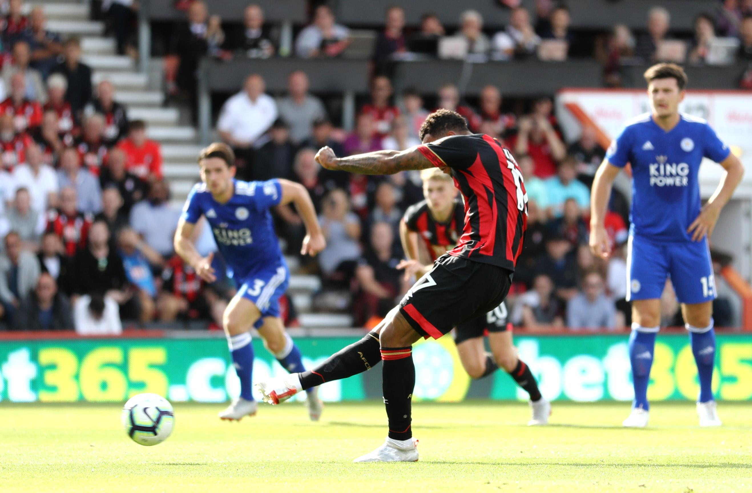 Bournemouth's penalty was seemingly the correct decision