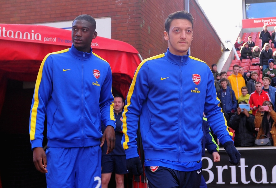 He spent his first two seasons trying to assist Yaya Sanogo