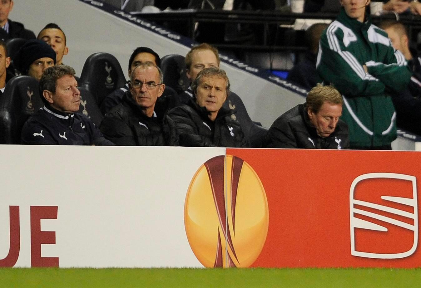 Redknapp's face says it all