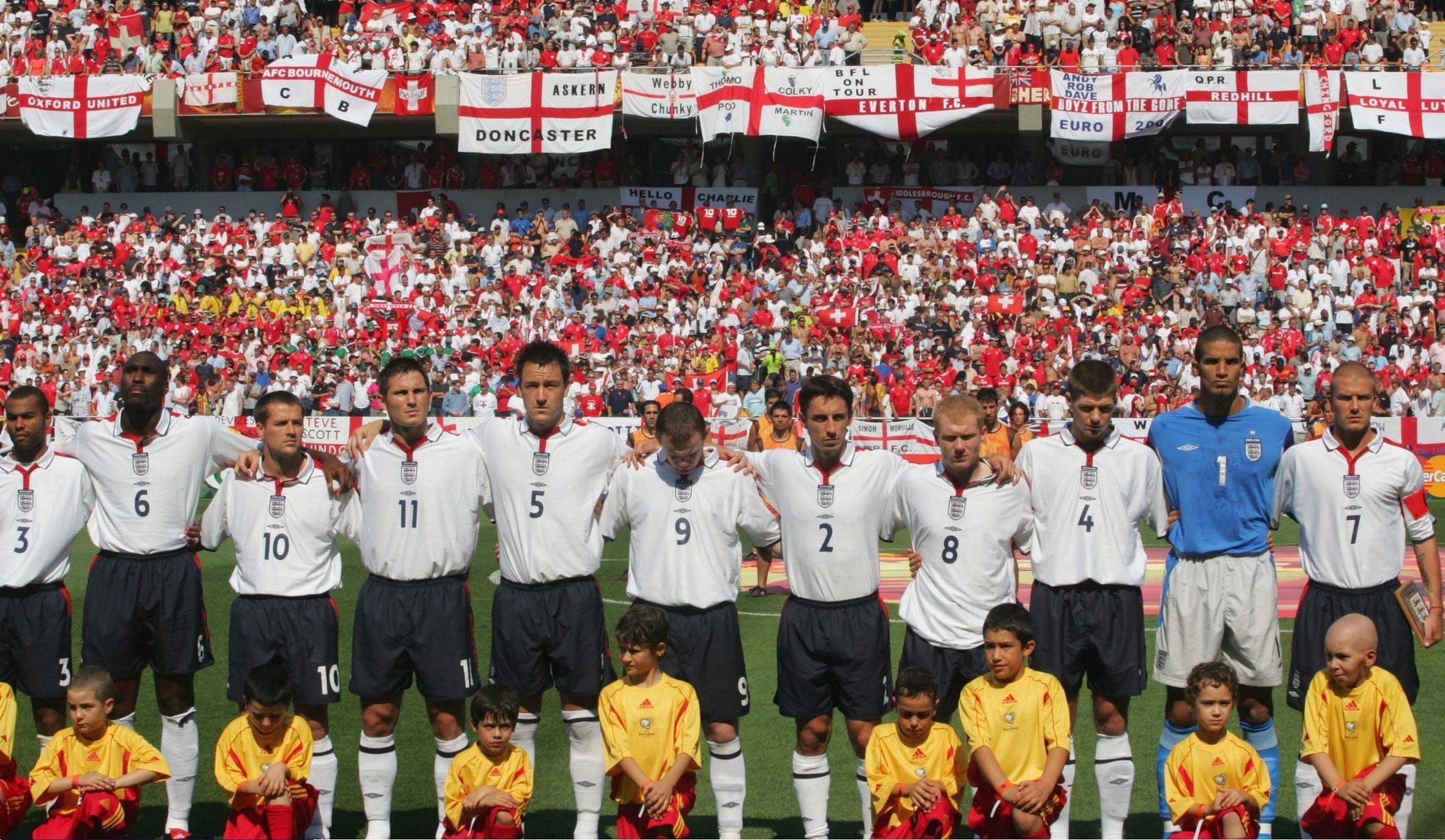Ten world-class players… and David James