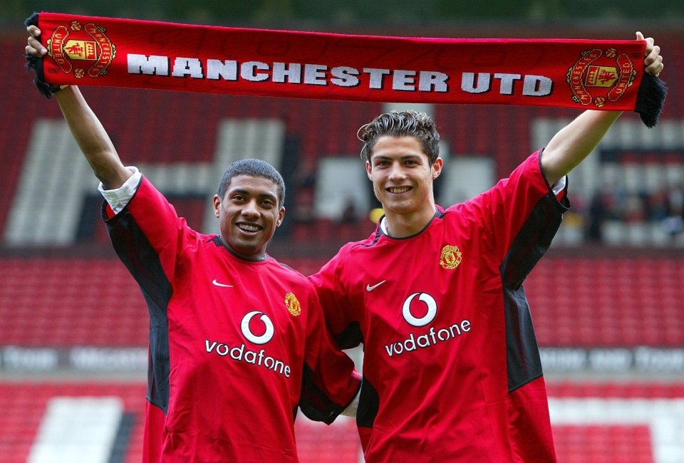 One of these went onto stardom, the other is Cristiano Ronaldo