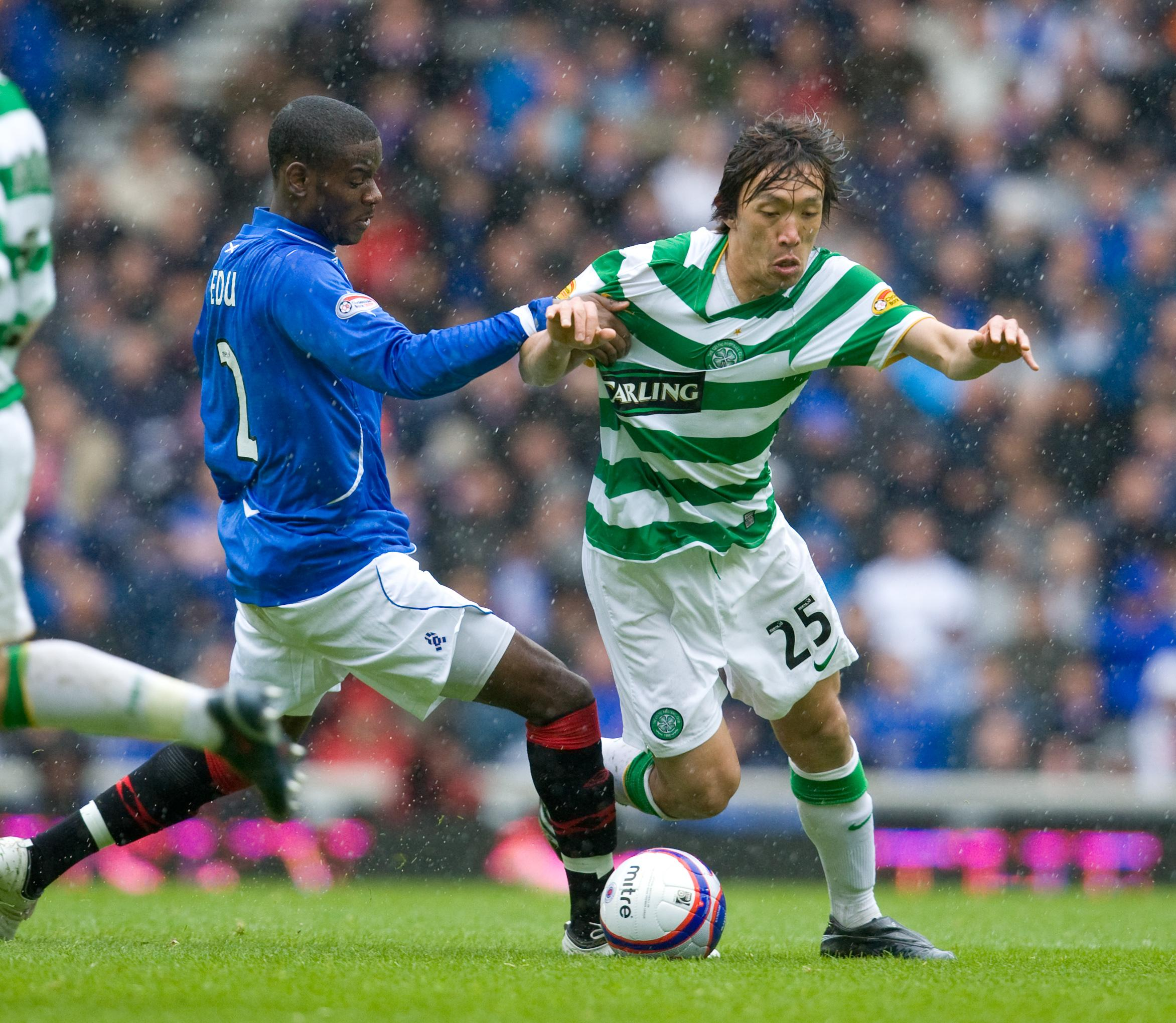 He played in numerous Old Firm derbies and lived to tell the tale