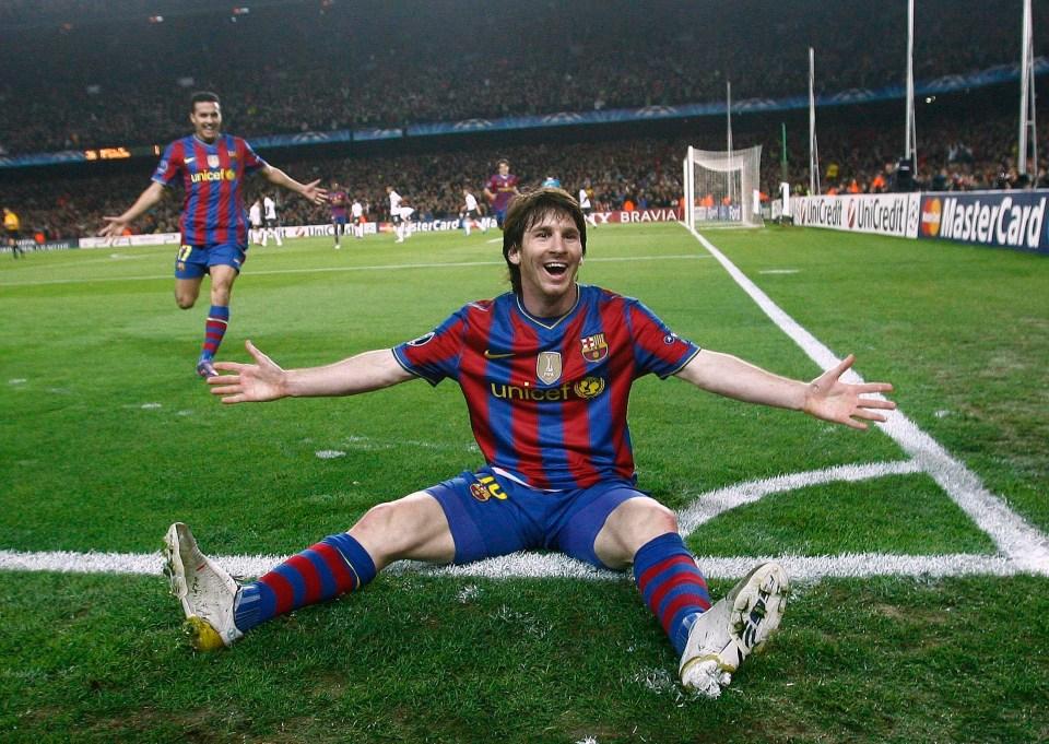 Messi humbled Arsenal