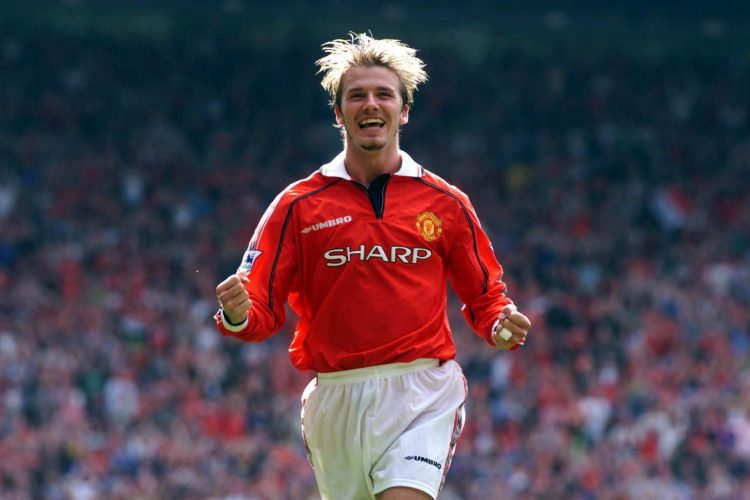 Vintage Becks. Vintage United. The glory years