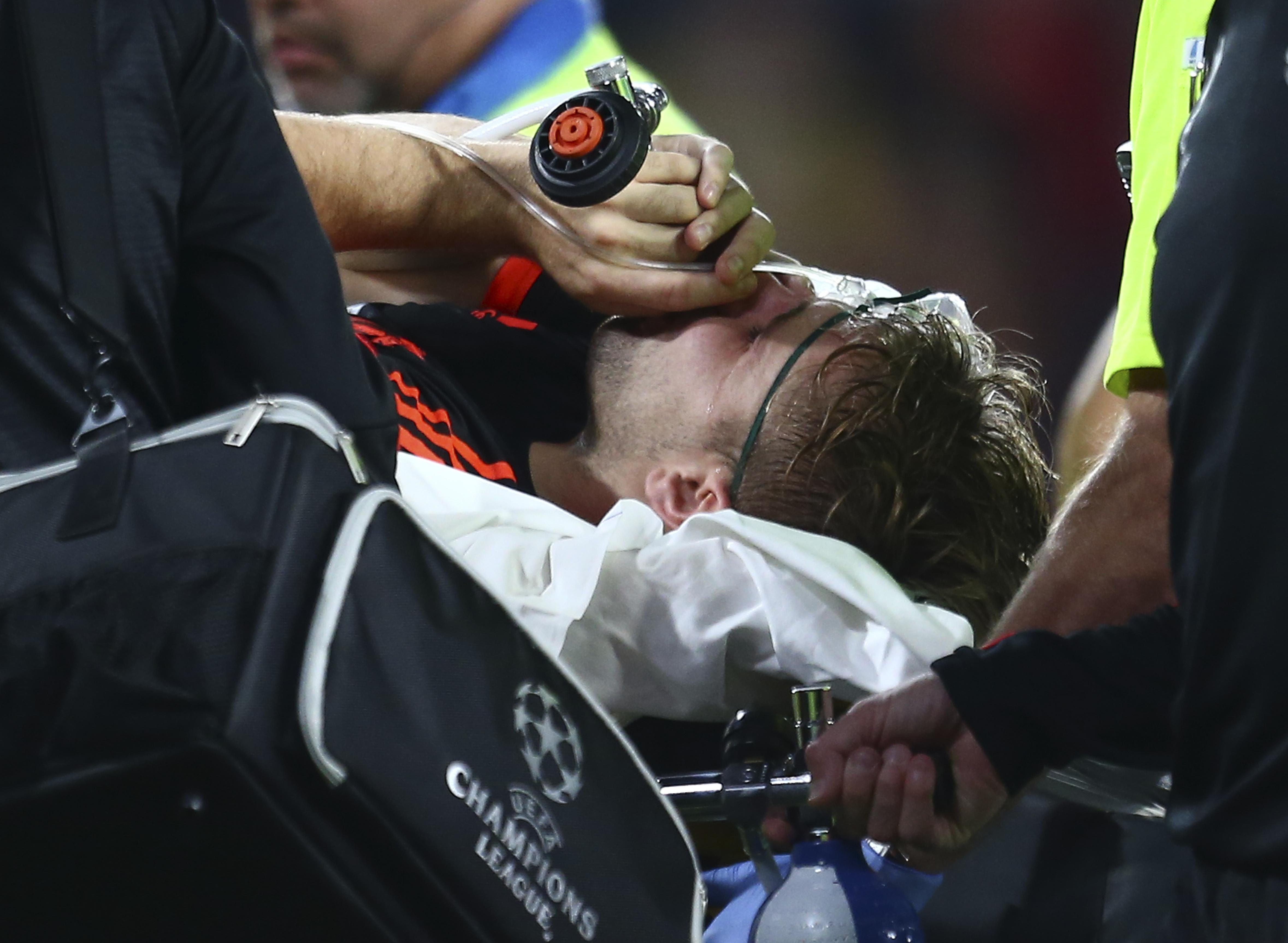Shaw was sidelined for 11 months