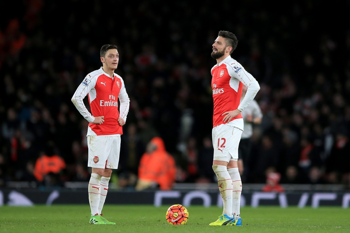 ef6a6795c Olivier Giroud damaged Mesut Ozil s legacy in the space of three months