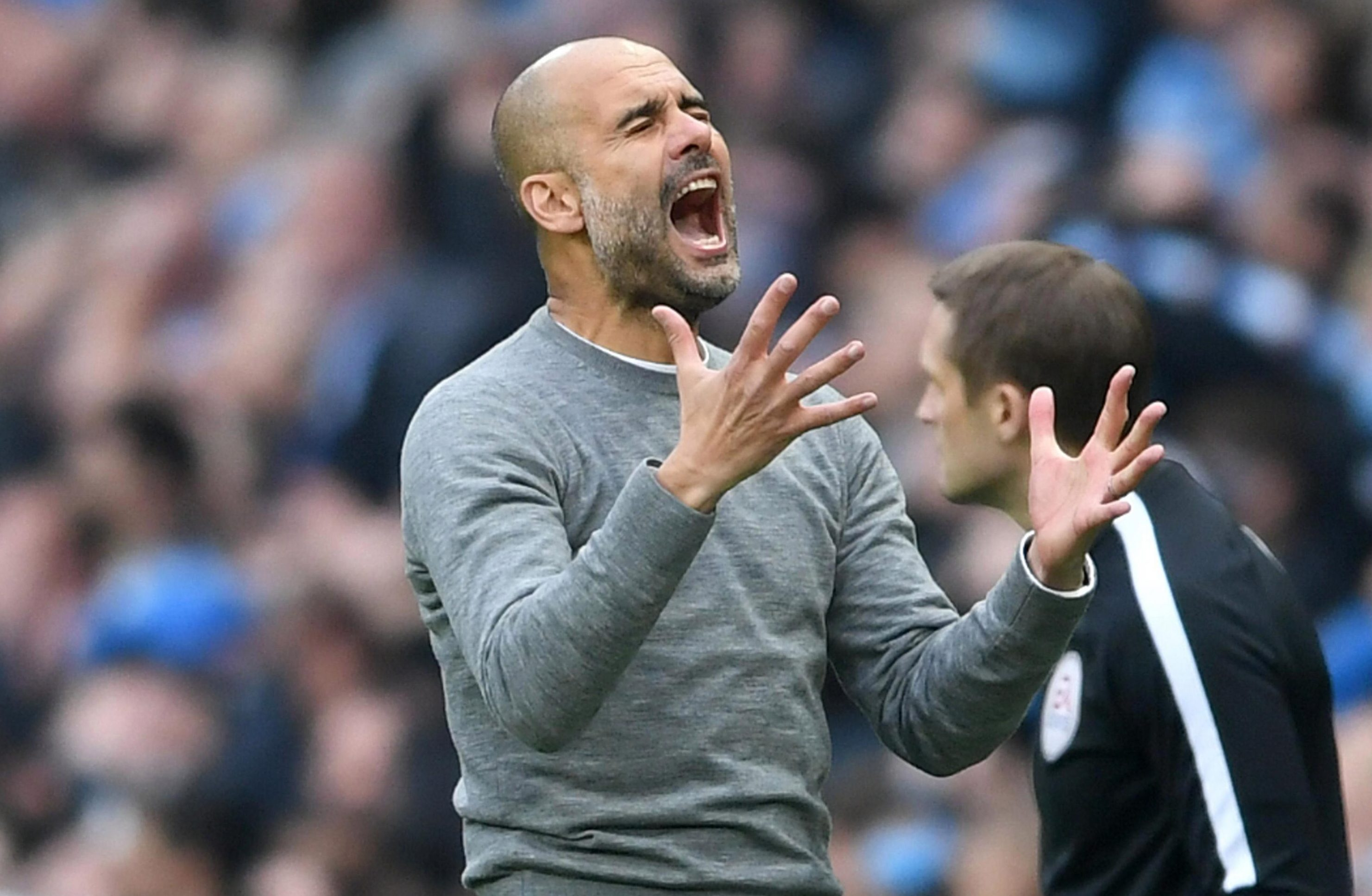 I know, Pep, I know, let it all out