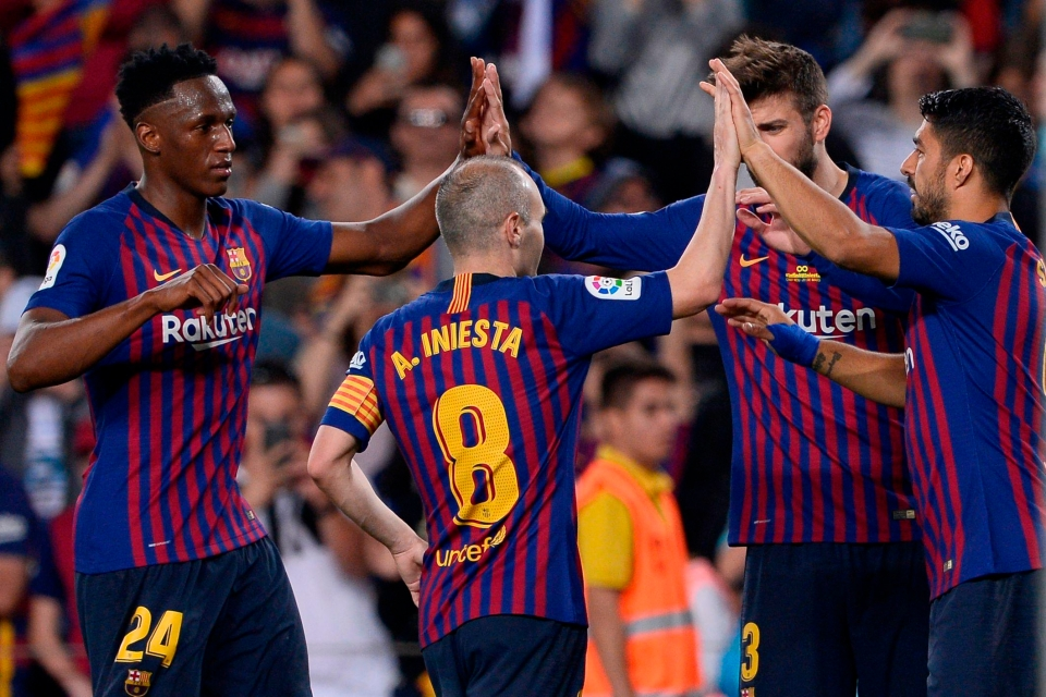 Barca threw Iniesta a massive leaving party – but there's no way they'll retire his number