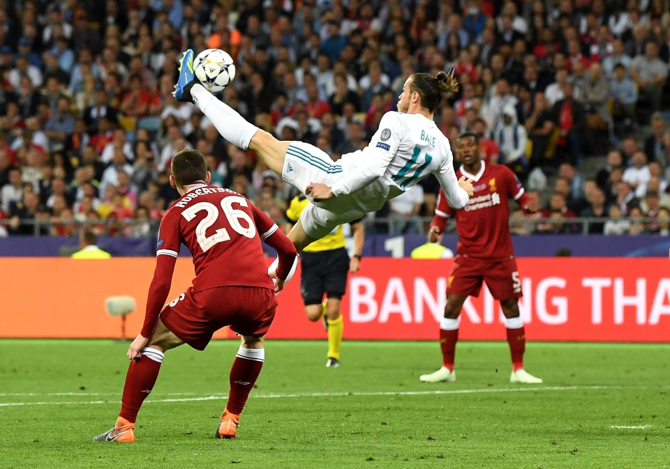 Cristiano Ronaldo and Gareth Bale's bicycle kicks must have been ruled out for offside then?
