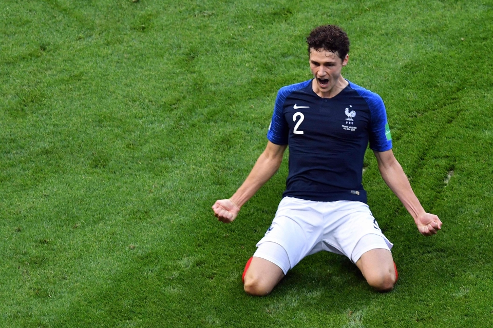 Pavard is a realistic target to strengthen the defence