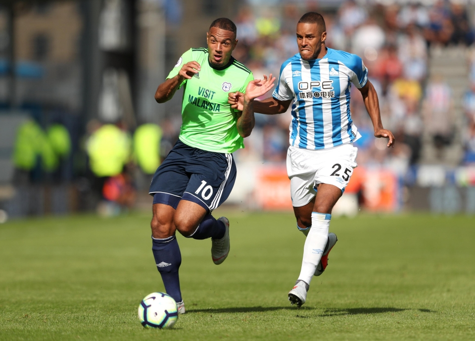 He's been an ever-present for Huddersfield