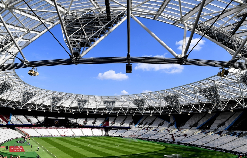 The London Stadium full of all the people who think West Ham will finish in the top half