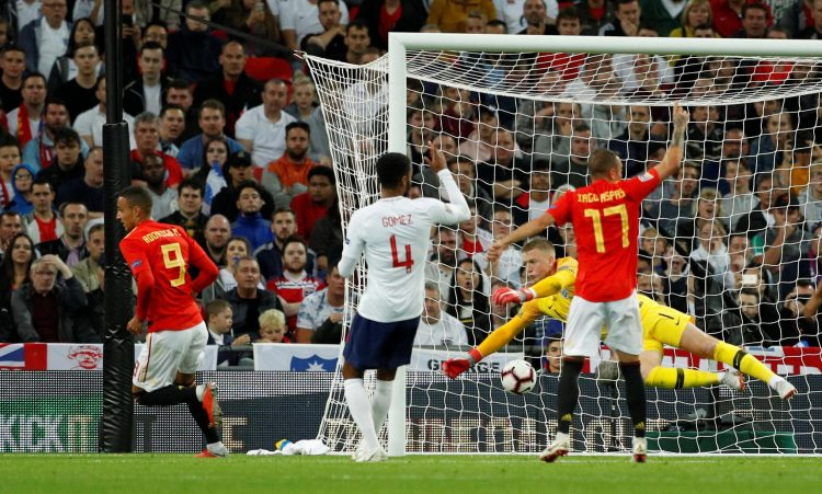 Rodrigo netted Spain's eventual winner