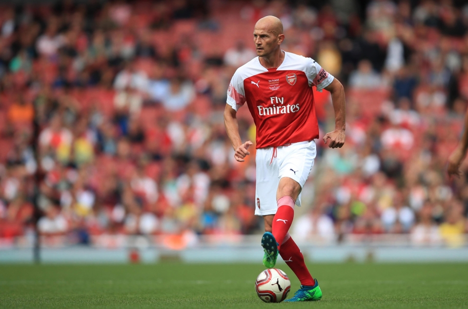 Pascal Cygan is an Arsenal legend, apparently