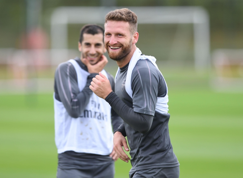 Shkodran Mustafi, famously scared of cats