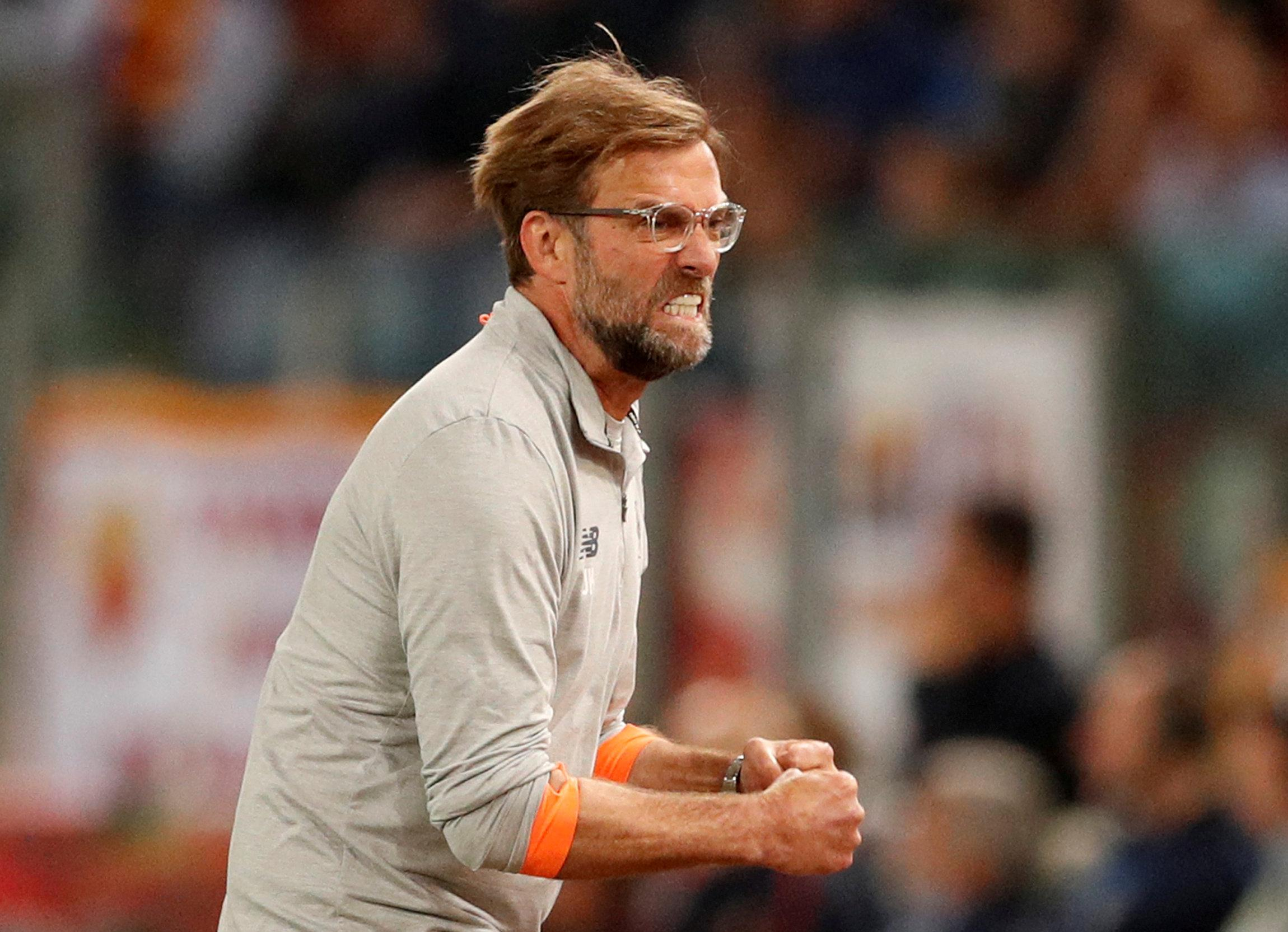 We've seen less of angry Klopp this season