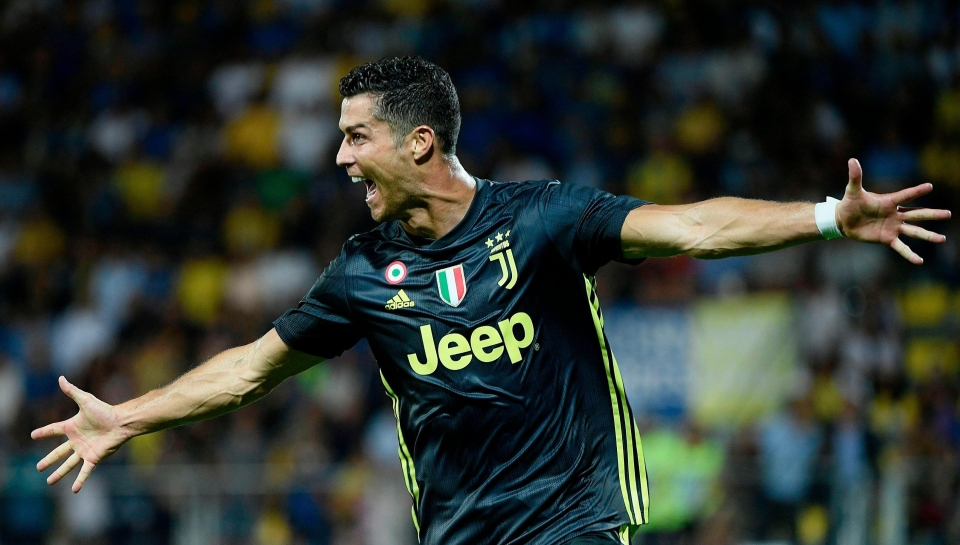 Ronaldo did not attend the ceremony as Juventus play Bologna tomorrow