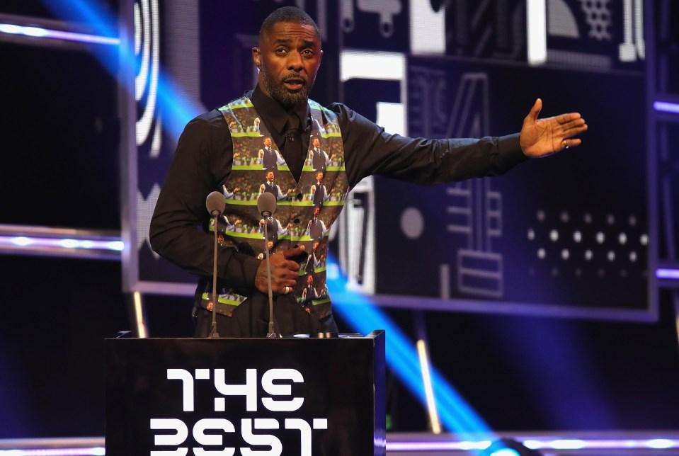 Idris Elbas custom waistcoat…
