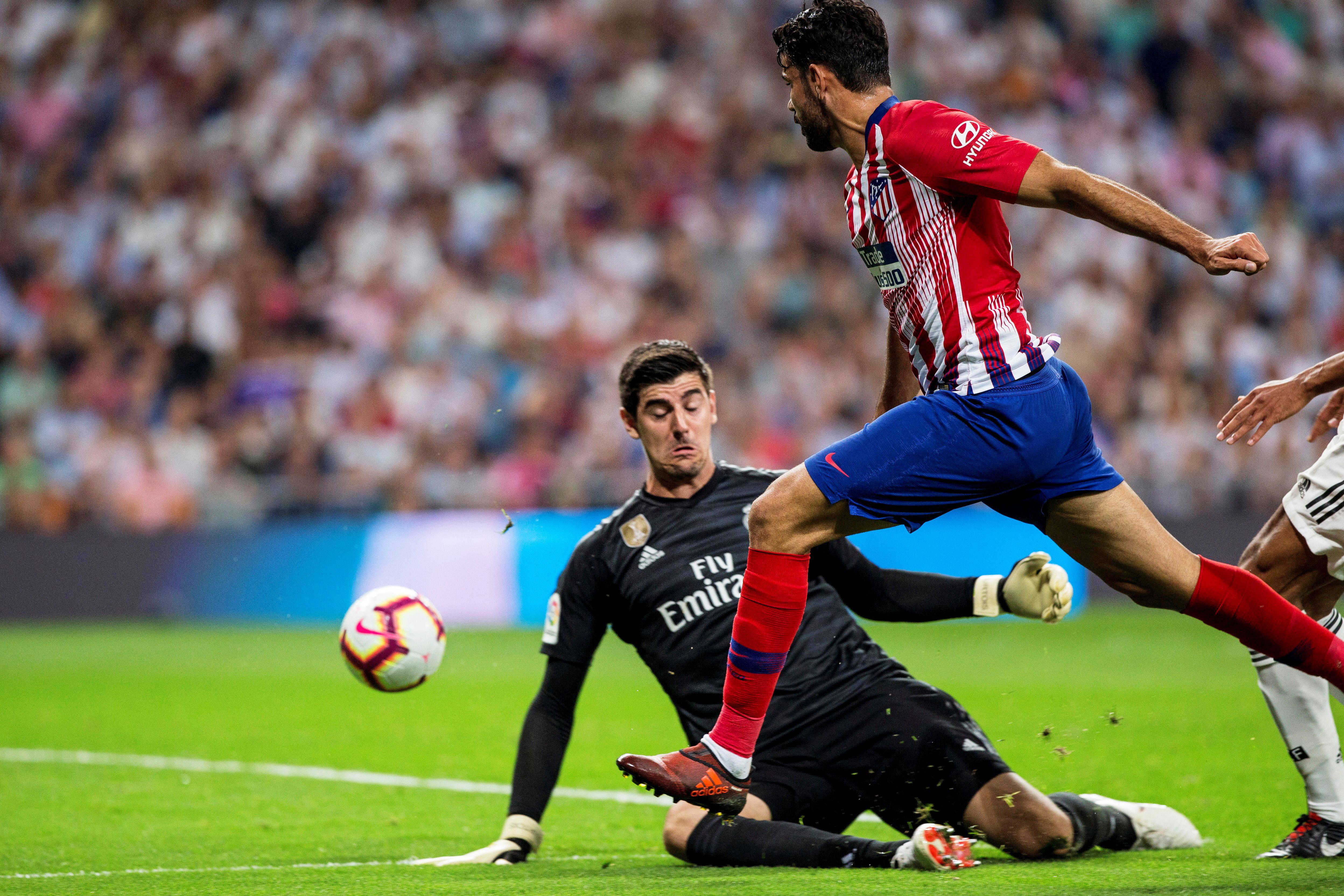 Courtois denied Costa