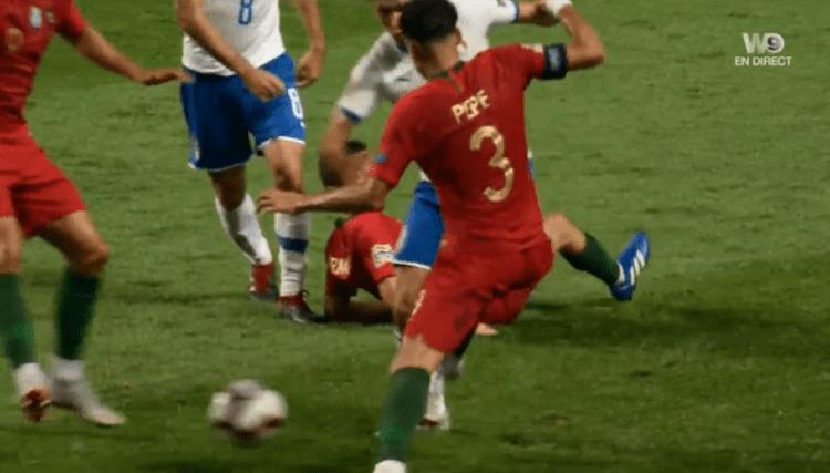 Studs meet knee