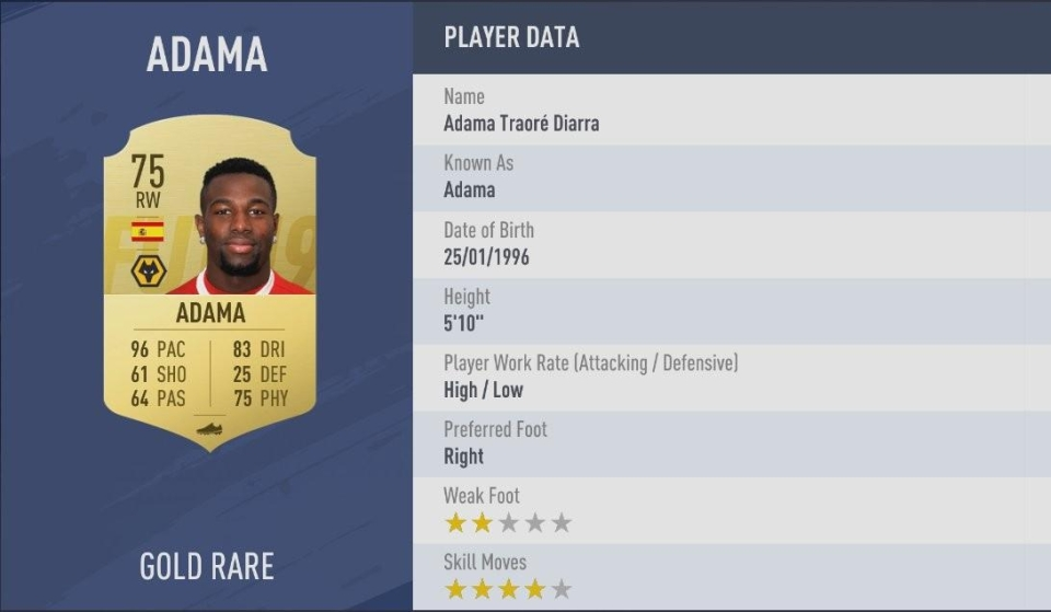 FIFA has a new fastest player