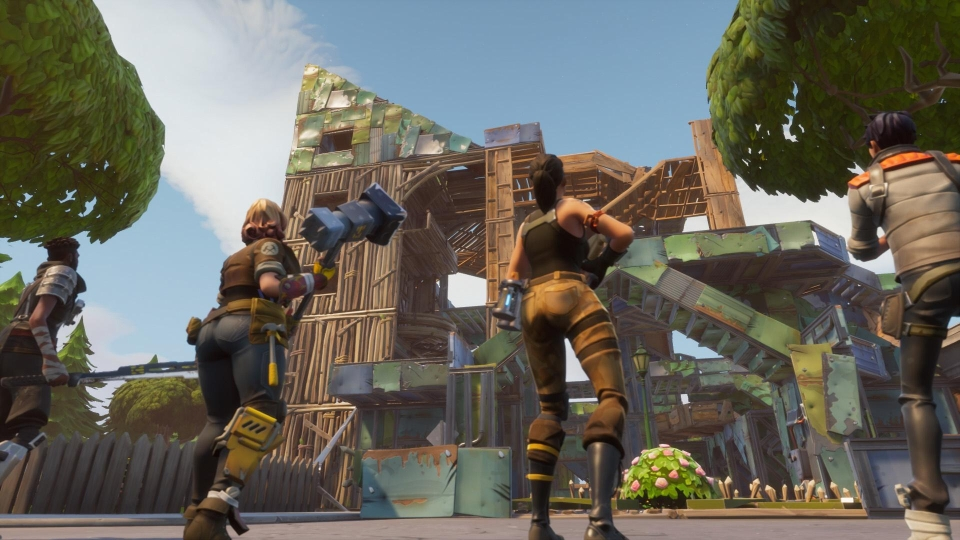 Long gone are the days of epic build battles