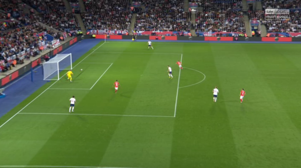 A lapse in concentration meant the keeper's pass got nowhere near his target and invited pressure on the defence