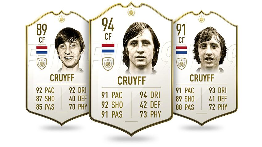 We can't wait to try out the Barcelona and Holland legend