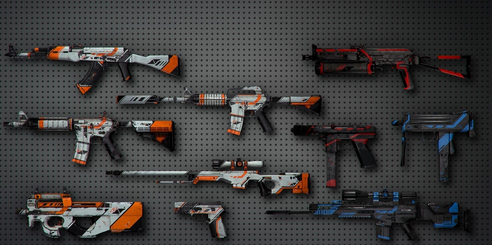 CS:GO is renowned for their in-game weapon skins