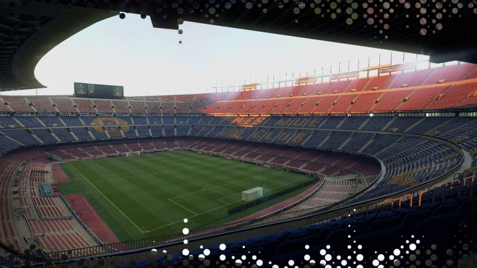 Pro Evolution Soccer still own the rights to Camp Nou