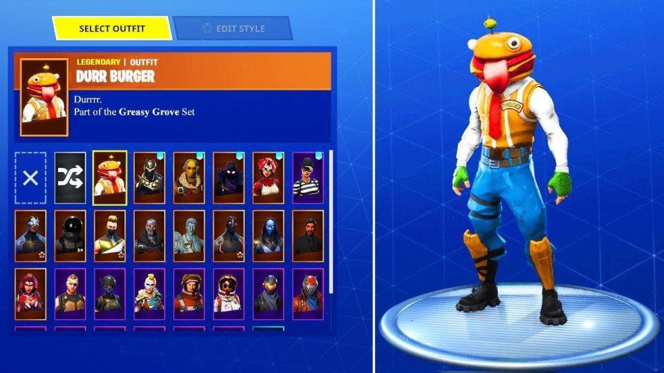 The Durr Burger skin could be the first of many fast food-themed outfits