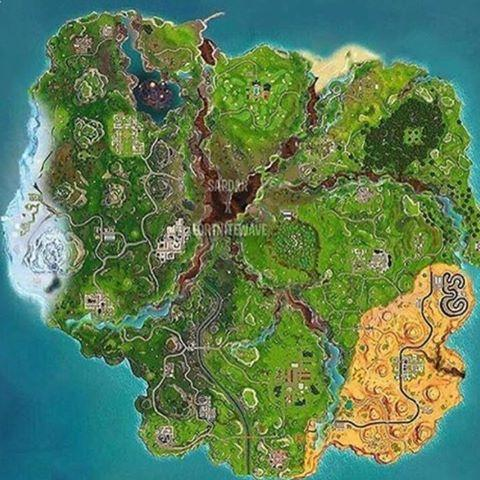 image relating to Printable Fortnite Map identify Fortnite Period 6: The modifications coming in direction of the combat royale