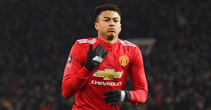 Lingard is sporting a new look in the game
