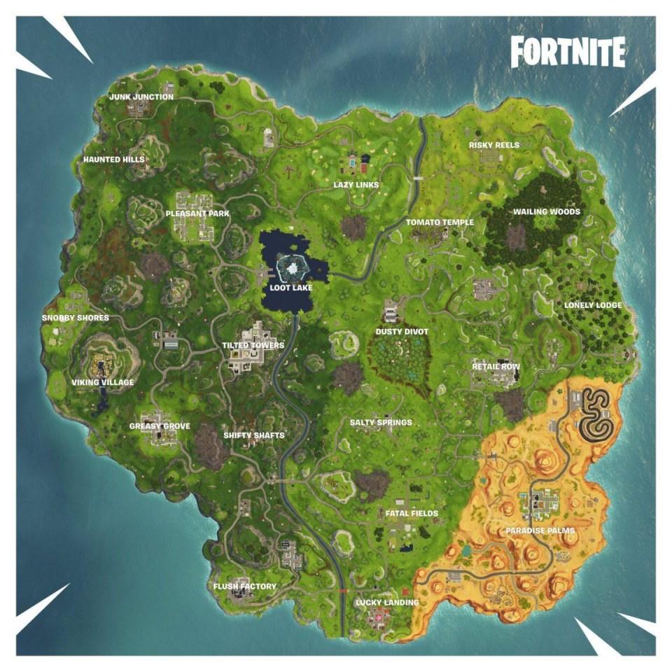 The new Season 6 map