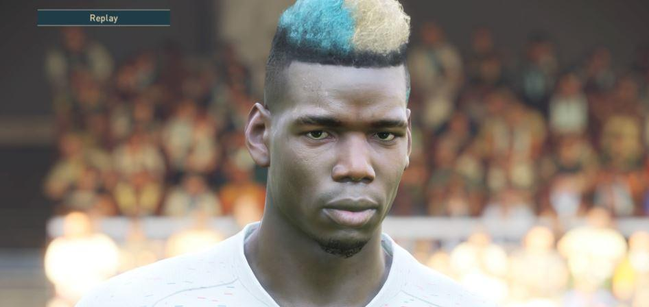 Some player faces in PES 2019 are incredible