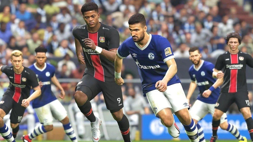 PES 2019 graphics were improved this year but the loss of the Champions League may have had a negative impact