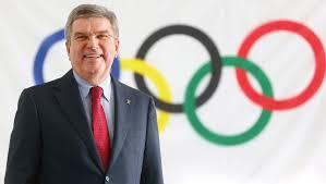 Thomas Bach is a former fencing gold medallist