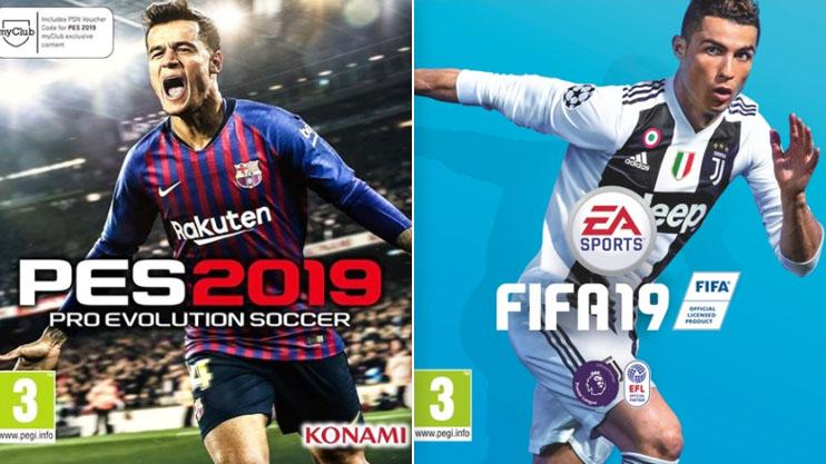 FIFA 19 vs PES 2019: Which game should you buy this year?