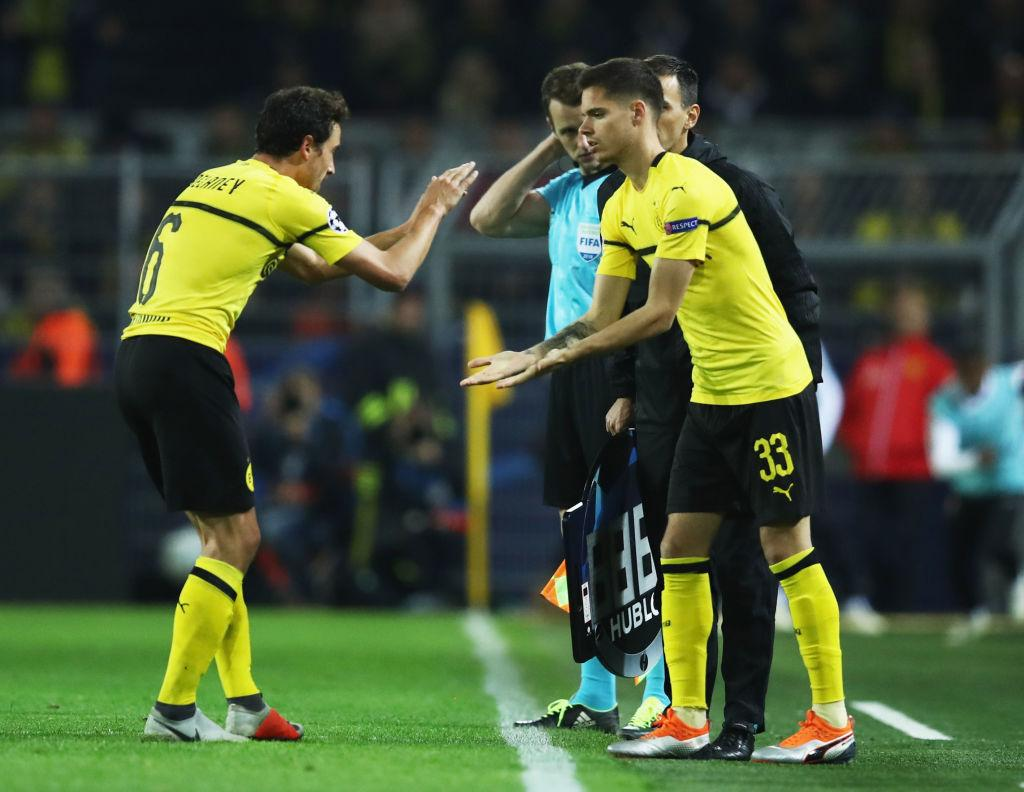 What's going on with Julian Weigl at Borussia Dortmund?