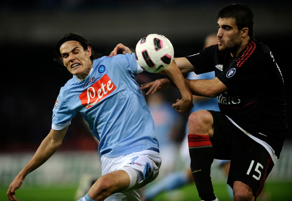 Lesson one: Stop Edinson Cavani by any means possible