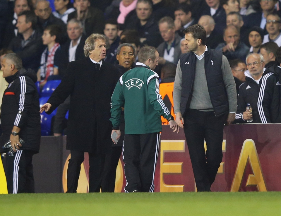 Tim Sherwood and his gilet were always up for a scrap