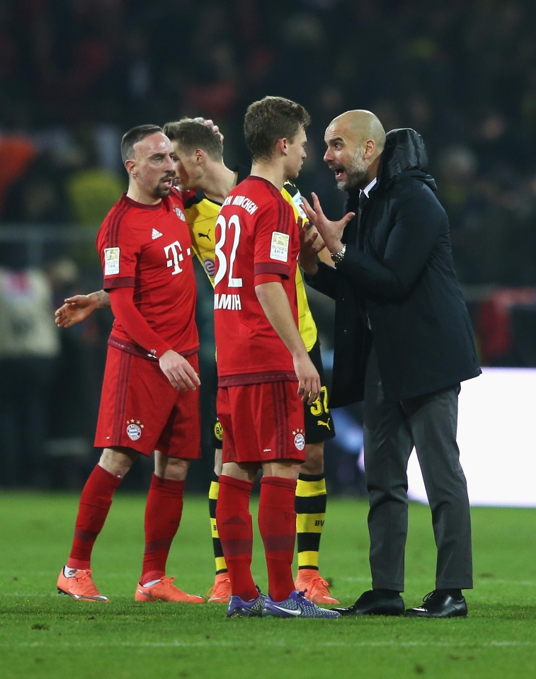Remember when he gave Kimmich a dressing down on the pitch after Der Klassiker?