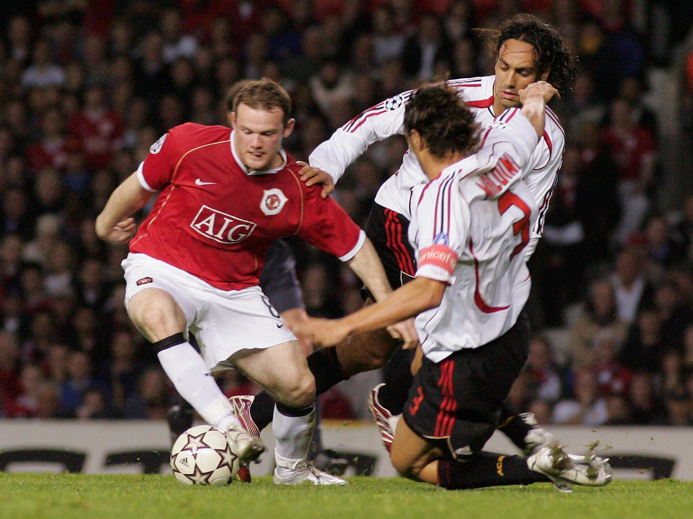 Wayne Rooney never stood a chance